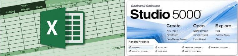 ¿Cómo importar datos desde RSLogix 5000 a Excel?