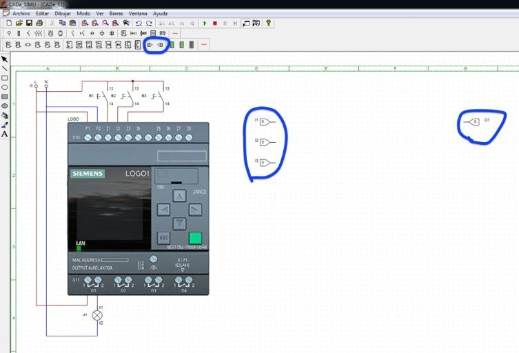 Programar el CADe Simu mediante Diagrama de Bloques
