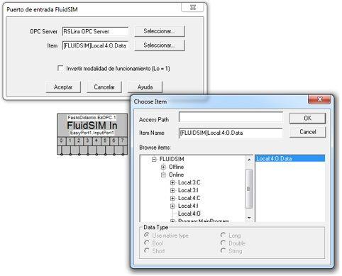 Configuración del Fluidsim _4