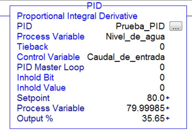 Configuración básica del control PID en Studio 5000