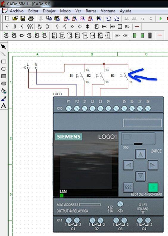 Configurar entradas del PLC Logo_2