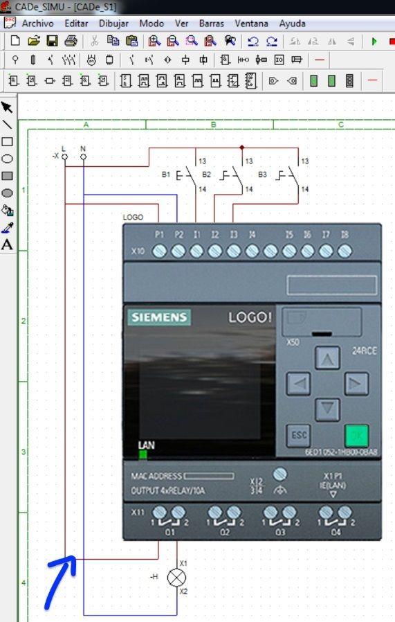 Configurar salidas del PLC Logo_2