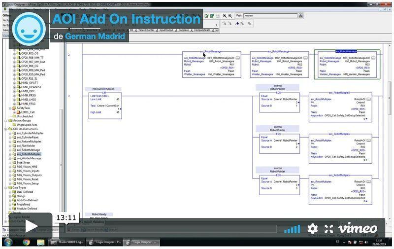 Add On Instruction; 3 pasos para crear una AOI