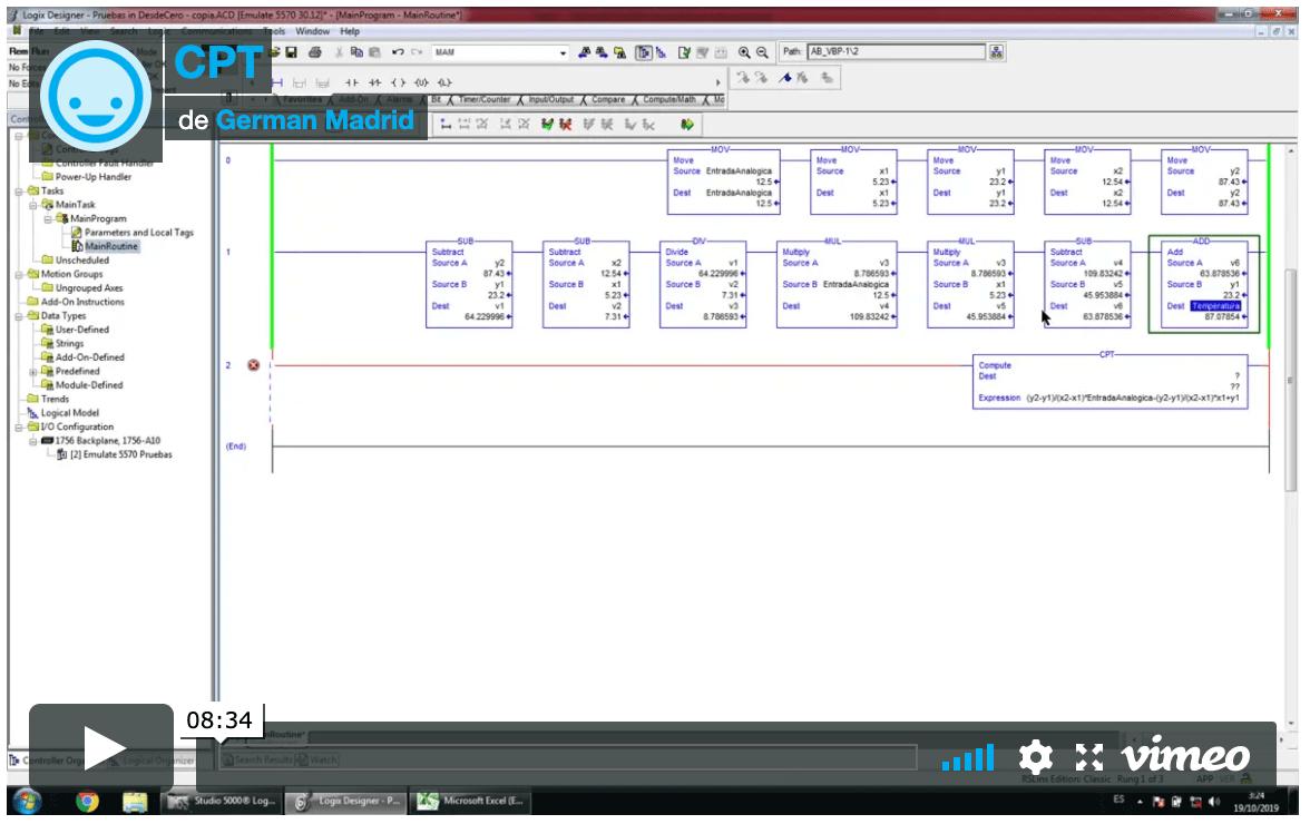 Instrucción CPT o Compute en Studio 5000