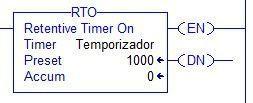 instrucción RTO en Studio 5000